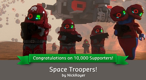 CUUSOO LEGO Space Troopers by Nick Royer