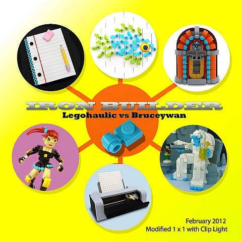 Iron Builder LEGO Contest 5