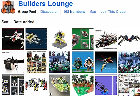 LEGO Builder's Lounge Flickr Group
