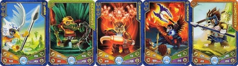 LEGO Legends of Chima Cards