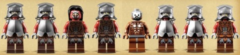 LEGO Lord of the Rings Bad Guys