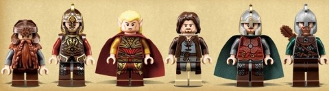 LEGO Lord of the Rings Good Guys