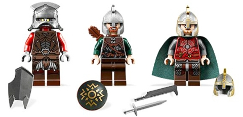 LEGO Lord of the Rings Minifigs