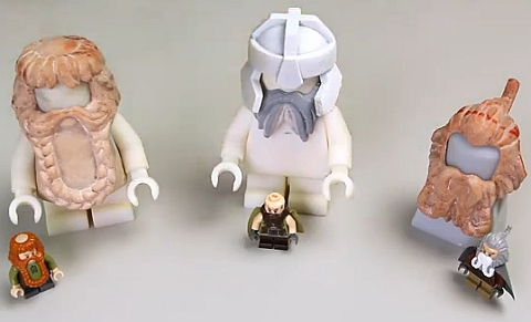 LEGO Lord of the Rings Prototypes