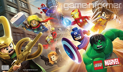 LEGO Marvel Super Heroes Video Game Image