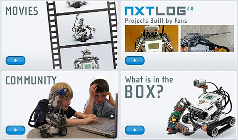 LEGO Mindstorms Website