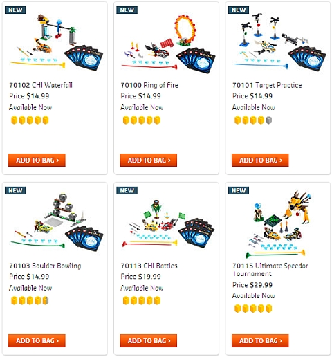 LEGO Speedorz Sets Available Now