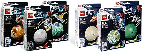 LEGO Star Wars Planets Series 1 & 2