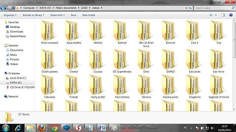 LEGo Video Files