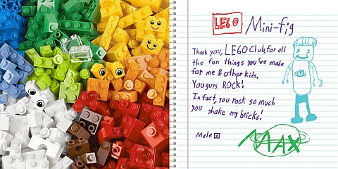 Letters to LEGO 1
