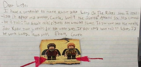Letters to LEGO 4