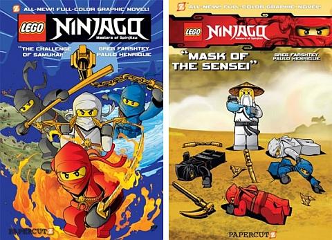 Ninjago LEGO Book 1 & 2