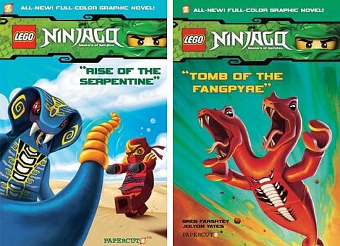 Ninjago LEGO Book 3 & 4
