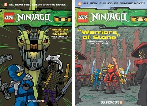 Ninjago LEGO Book 5 & 6