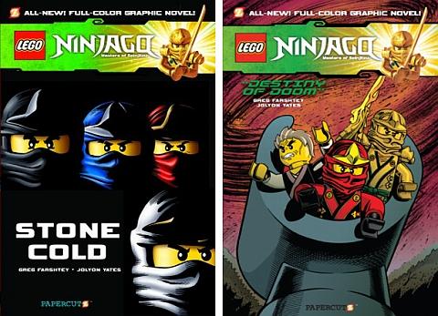 Ninjago LEGO Book 7 & 8