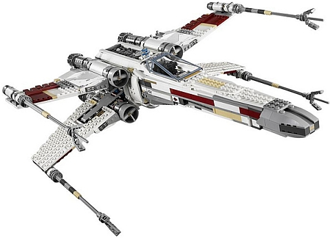 #10240 LEGO Star Wars X-wing Starfighter Details