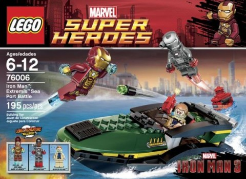 #76006 LEGO Super Heroes Iron Man Set