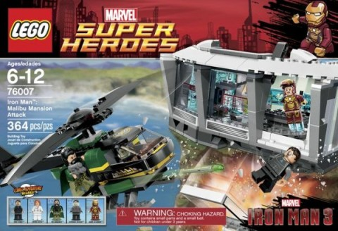 #76007 LEGO Super Heroes Iron Man Set
