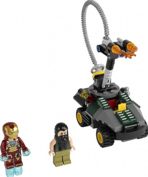 #76008 LEGO Super Heroes Iron Man Details