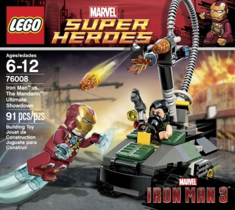 #76008 LEGO Super Heroes Iron Man Set