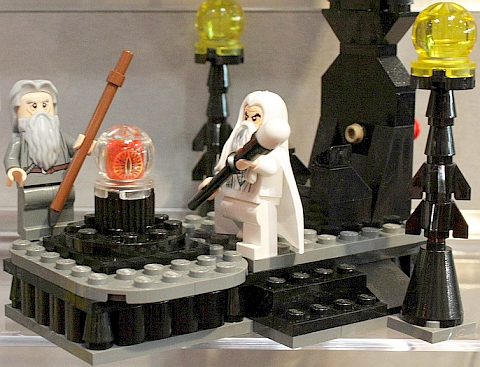 #79005 LEGO Lord of the Rings The Wizard Battle Details