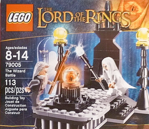 #79005 LEGO Lord of the Rings The Wizard Battle