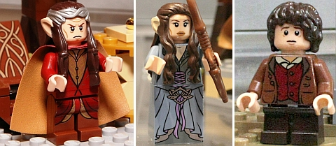 #79006 LEGO Lord of the Rings The Council of Elrond Minfigures