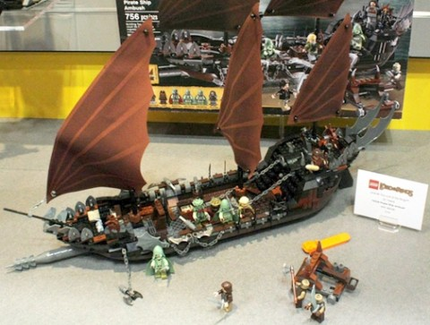 #79008 LEGO Lord of the Rings Pirate Ship Ambush Details