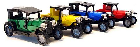 Classic LEGO Cars by Sir Nadroj