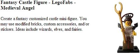 LEGO Castle Contest - Fantasy Minifigures