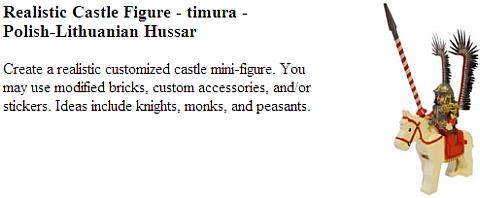 LEGO Castle Contest - Realistic Castle Minifigure
