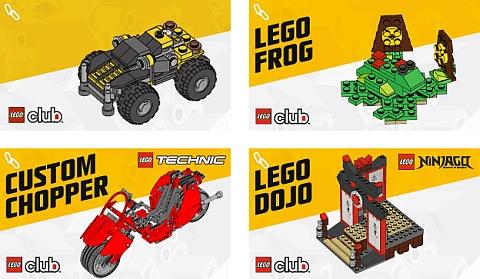 LEGO Club Instructions