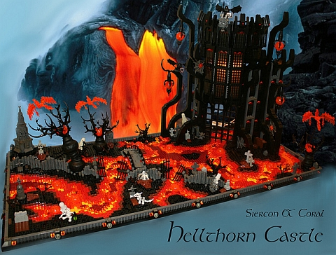 LEGO Contest Black Castle by Siercon & Coral