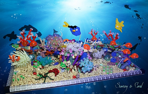 LEGO Contest Coral Reef by Siercon & Coral