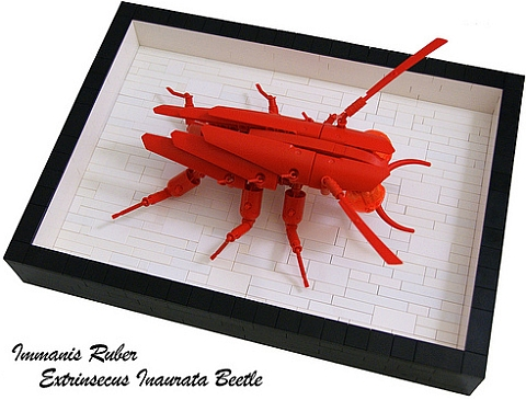 LEGO Contest Giant Bug by Bart De Dobbelaer
