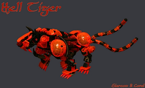 LEGO Contest Hell Tiger by Siercon & Coral