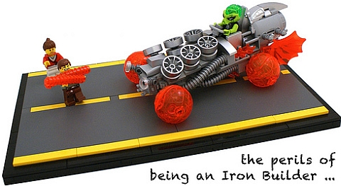 LEGO Contest Iron Builder by Bart De Dobbelaer