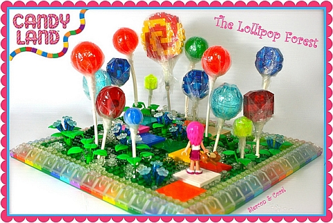 LEGO Contest Lollipop Forest by Siercon & Coral