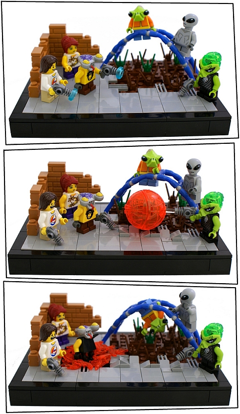 LEGO Contest Space School by Bart De Dobbelaer