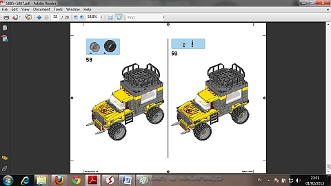 LEGO Instructions for LEGO Dino Combiner Model