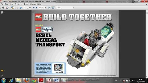 LEGO Instructions for LEGO Star Wars Alternate Model