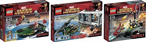 LEGO Iron Man 3 Sets