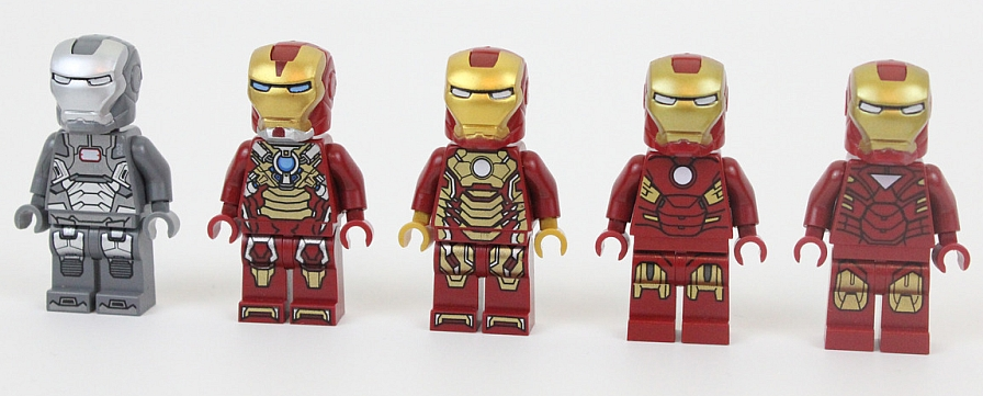 War Machine Iron Man Lloyd Minifigure Marvel Figure For Custom Minifigures
