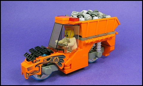 LEGO Legends of Chima Dump Bike by Karf Oohlu