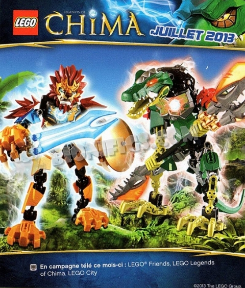 LEGO Legends of Chima Ultrabuilds