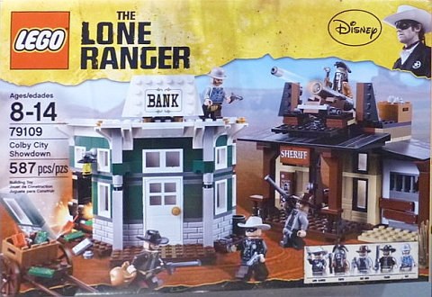 LEGO Lone Ranger Colby City Showdown