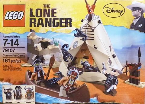 LEGO Lone Ranger Comanche Camp