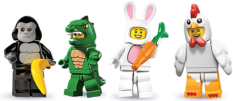 LEGO Minifigure Series Costumed Minifigs