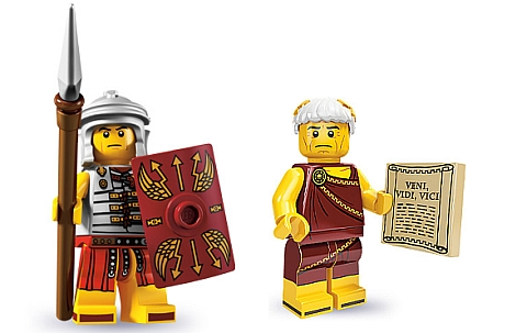 LEGO Minifigure Series Romans