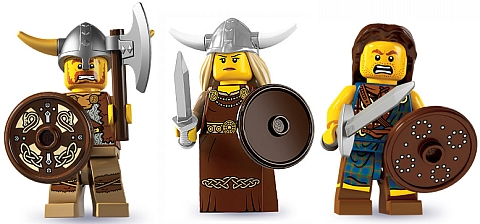LEGO Minifigure Series Warriors